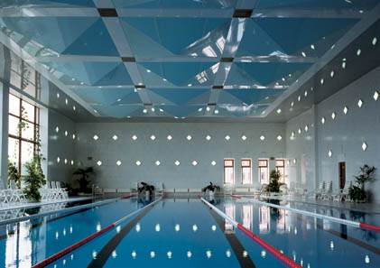 Натяжные потолки, дизайнерские вариантые. Фото.