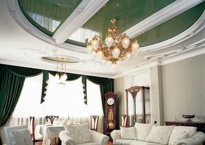 Натяжные потолки, дизайнерские вариантые. Дизайн.