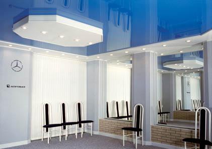 Натяжные потолки, дизайнерские вариантые. Установка.