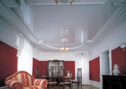 Натяжные потолки, дизайнерские вариантые. Фотогалерея.