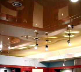 Натяжные потолки, дизайнерские вариантые. Производство.