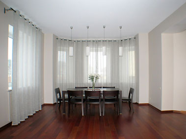 Натяжные потолки в квартире. Дизайн.