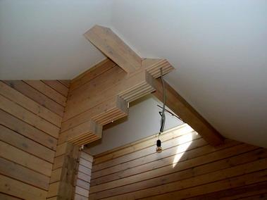натяжные потолки в мансарде и больших помещениях. Дизайн.