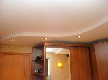 Натяжные потолки многоуровневые. Дизайн.