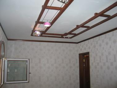 Натяжные потолки, встроенные элементы. На заказ.