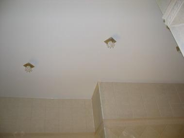 Натяжные потолки, встроенные элементы. Производство.