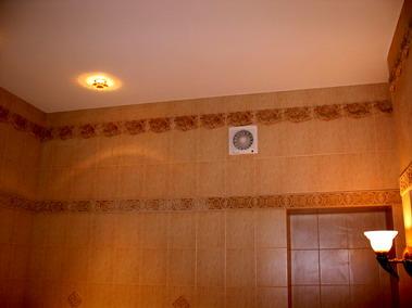 Натяжные потолки, встроенные элементы. Установка.